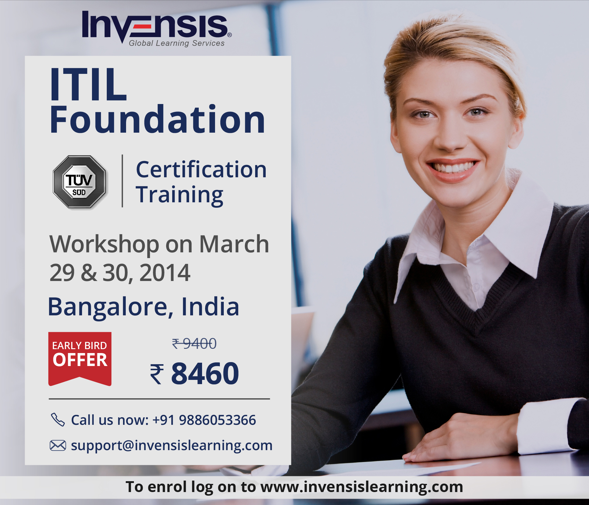 Book Itil 2011 Foundation Certification Training In Bangalore India